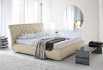 луксозно златно легло Chesterfield
