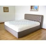 легло Chesterfield в сив цвят