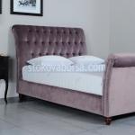 легло Chesterfield в лилав цвят